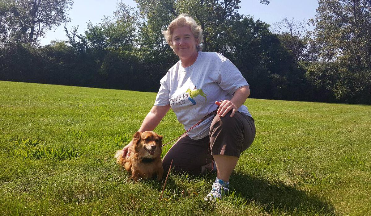 Photo of Holly B, a dog walker in Wheaton, IL