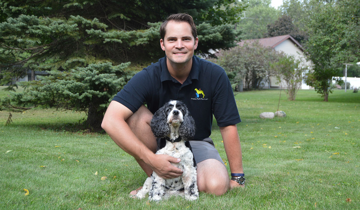 Photo of Matt, a dog walker in Wheaton, IL