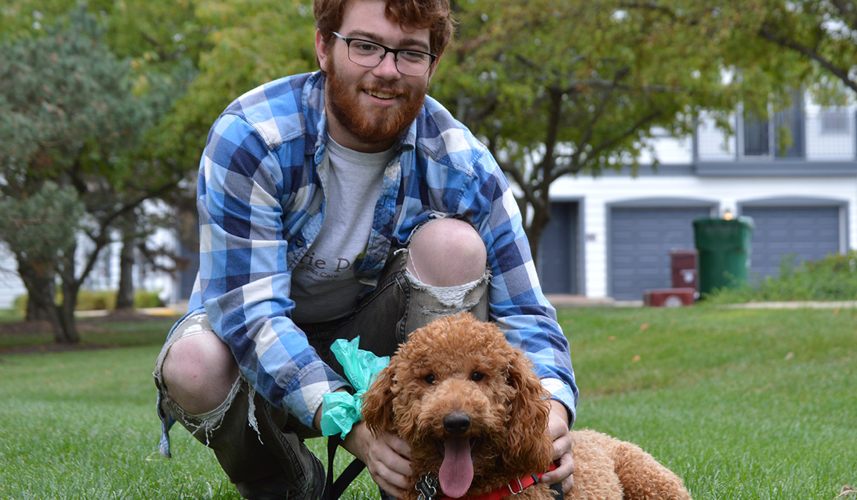 Photo of Mike G, a dog walker in Wheaton, IL