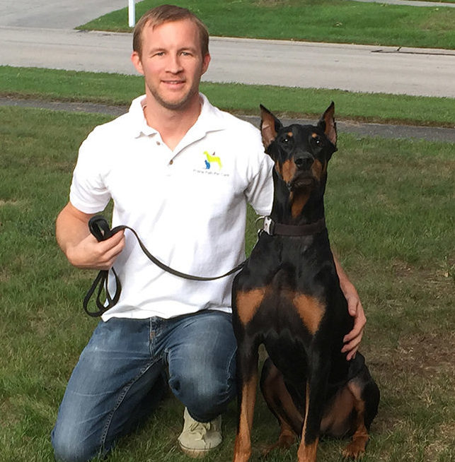 Photo of Shawn Frick, a dog walker in Wheaton, IL