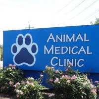 Photo of the Animal Medical Clinic sign