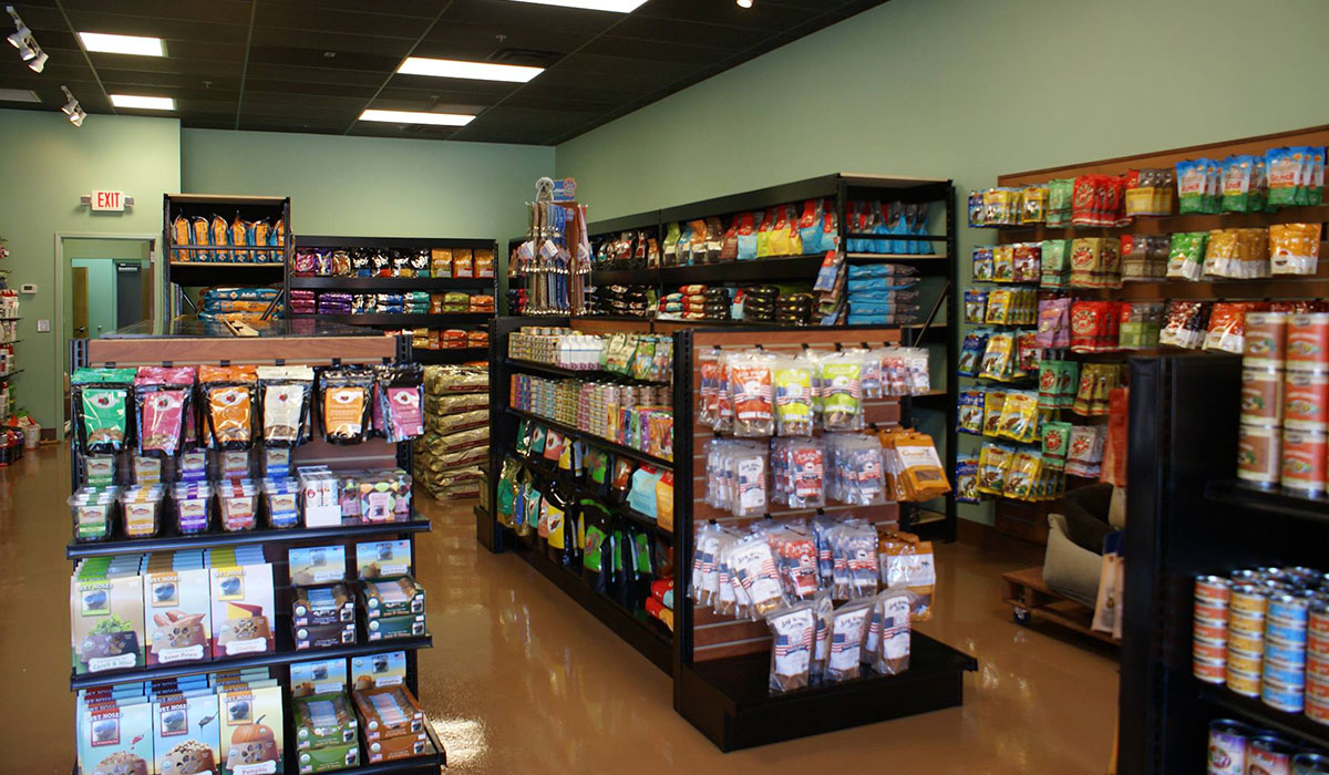 Photo of the inside of Nashville Holistic Pet Store