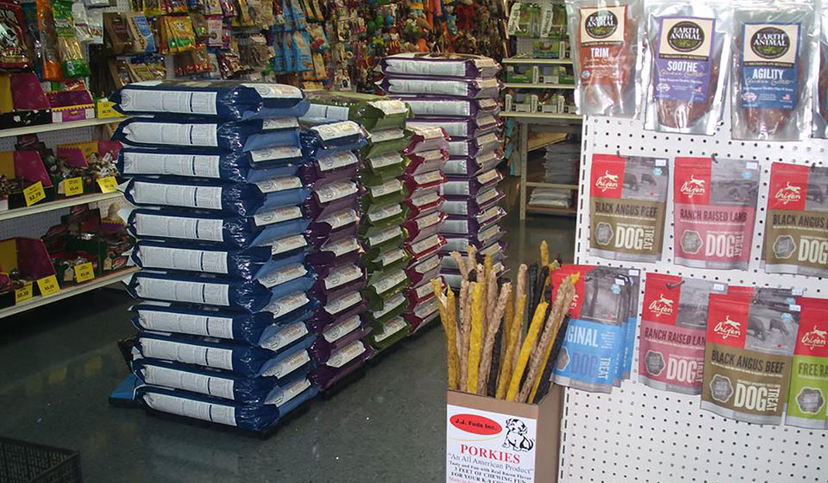 Photo of the inside of Nashville Pet Products Center